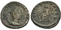 Ancient Coins - Salonina. Billon Antoninianus. Concordia.