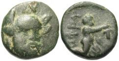 Ancient Coins - Troas, Ophrynion. Æ 13 mm. Hektor / Dionysos.