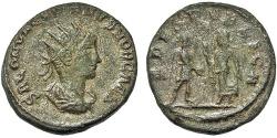 Ancient Coins - Saloninus. Billon Antoninianus. Asia Mint. Spes.