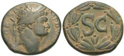 Ancient Coins - Syria, Seleucis and Pieria. Antioch. Domitian. Æ As.