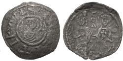 "Ancient Coins - Byzantine Empire. Andronicus III, Palaeologus. BI Tornese. ""Politikon Coinage."" VERY RARE!"
