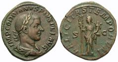 Ancient Coins - Gordian III. Æ Sestertius. Felicitas.