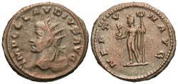 Ancient Coins - Claudius II Gothicus. Antoninianus. Neptune.