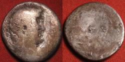 Ancient Coins - MARCUS ANTONIUS AR silver denarius. ATHENS mint, summer, 32 BC. Moneyer M Silanus.