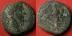 Ancient Coins - MARCUS AURELIUS AE dupondius. Aequitas standing, holding scales & cornucopia