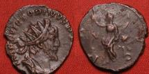 Ancient Coins - VICTORINUS AE antoninianus. Pax standing, holding olive branch.