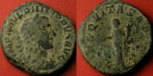 Ancient Coins - PHILIP I THE ARAB AE sestertius. Aequitas standing, holding scales & cornucopia.
