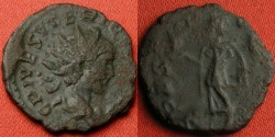 Ancient Coins - TETRICUS II AE antoninianus. Spes walking, holding flower.