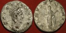 Ancient Coins - SALONINA AR silver antoninianus. Venus standing, holding apple & palm. VENVS VICTRIX