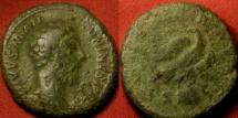 Ancient Coins - DIVUS MARCUS AURELIUS AE as/dupondius. CONSECRATIO, Eagle on globe.