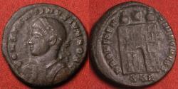 Ancient Coins - CONSTANTINE II CAESAR AE3 campgate. Trier mint.