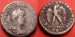 Ancient Coins - PHILIP I THE ARAB AR billon silver tetradrachm. Struck at Antioch. Eagle standing.