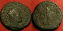 Ancient Coins - VALERIAN I AR antoninianus. RESTITUT GENER HUMANI, Restorer of the Human Race. Viminacium, scarce