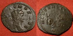 Ancient Coins - GALLIENUS AE antoninianus. NEPTUNO CONS AUG, Hippocamp facing right.