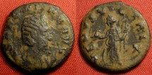 Ancient Coins - SALONINA AE antoninianus. ANTIOCH mint. Venus standing, holding apple & palm.