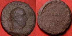 Ancient Coins - VALERIAN I AE as. Votis Decennalibus, vows in wreath. Very rare.