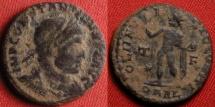 Ancient Coins - CONSTANTINE I THE GREAT AE follis. Arles mint, 316 AD. SOLI INVICTO COMITI