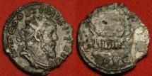 Ancient Coins - POSTUMUS AR silver antoninianus. LAETITIA AVG, galley sailing right.