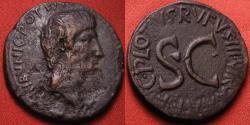Ancient Coins - AUGUSTUS AE as. C PLOTIUS RUFUS, Moneyer's series dated 6 BC.