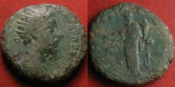 Ancient Coins - MARCUS AURELIUS AE dupondius. Providentia standing, holding globe& cornucopia