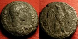 Ancient Coins - HADRIAN AR billon silver tetradrachm. Alexandria. Eagle standing, facing, wings spread. Scarce