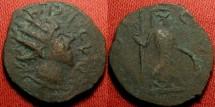 Ancient Coins - TETRICUS II CAESAR AE antoninianus. Barbarous imitative type. Pax standing.