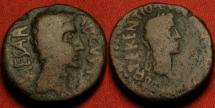 Ancient Coins - AUGUSTUS AE 22mm. Lilybaeum, Sicily, 27 AD or later. Struck under Proconsul Quintus Terentius.