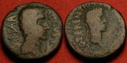 Ancient Coins - AUGUSTUS AE 22mm. Lilybaeum, Sicily, 27 AD or later. Struck under Proconsul Quintus Terentius.