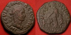 Ancient Coins - TREBONIANUS GALLUS AE 28mm. Viminacium, Moesia. P M S COL VIM.