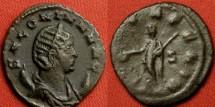 Ancient Coins - SALONINA AE antoninianus. Mediolanum mint. VESTA FELIX.