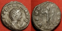 Ancient Coins - SALONINA AR silver antoninianus. mediolanum mint. VENVS FELIX. Interesting obverse legend - die punched letters make N's look like III