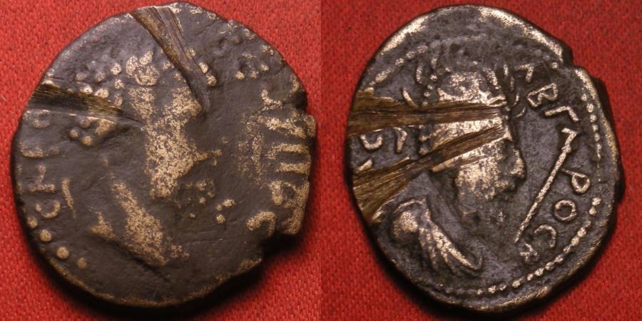 Ancient Coins - ABGAR VIII & SEPTIMIUS SEVERUS. Edessa, Mesopotamia.