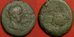 Ancient Coins - CLAUDIUS AE obol. Alexandria, Egypt. Two clasped hands.