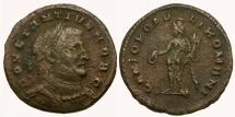 Constantius I as Caesar Æ Follis / London