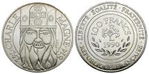 Ancient Coins - France. Charlemagne Silver 100 Francs