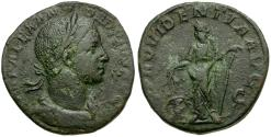 Ancient Coins - Severus Alexander Æ Sestertius / Providentia