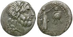 Ancient Coins - 88 BC - Roman Republic. Cn. Lentulus Clodianus AR Quinarius
