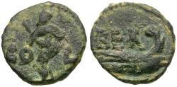 Ancient Coins - Phoenicia. Berytus Æ12 / Prow