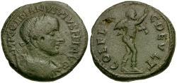 Ancient Coins - Gordian III. Thrace. Deultum Æ23 / Marsyas