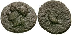 Ancient Coins - Ionia. Klazomenai Æ12 / Swan