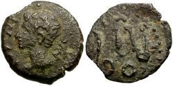 Ancient Coins - Augustus. Spain. Colonia Patricia Æ Quadrans