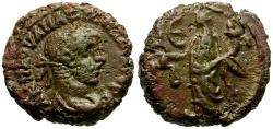 Ancient Coins - Maximianus, Egypt Alexandria Billon Tetradrachm / Dikaiosyne