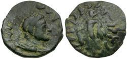 Ancient Coins - Kushan Kings of India. Kujula Kadphises Æ21 / Herakles