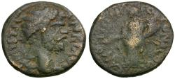 Ancient Coins - Septimius Severus (AD 193-211). Pisidia. Antioch Æ21 / Tyche