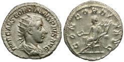 Ancient Coins - Gordian III (AD 238-244) AR Antoninianus / Concordia