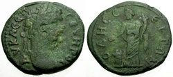 Ancient Coins - Septimius Severus, Thrace, Odessos Æ27 / Great god sacrificing