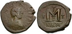 Ancient Coins - *Sear 199* Byzantine Empire, Justinian I Æ Follis