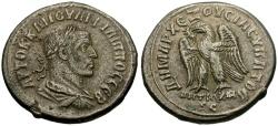 Ancient Coins - Philip I, Syria, Seleucia and Pieria, Antioch AR Tetradrachm / Eagle
