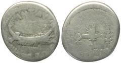 Ancient Coins - Imperatorial. Mark Antony (43-30 BC). Legionary AR Denarius / Legion XVIII