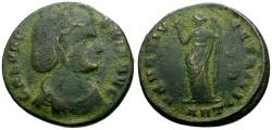 Ancient Coins - Galeria Valeria, Wife of Galerius Æ Follis / Venus